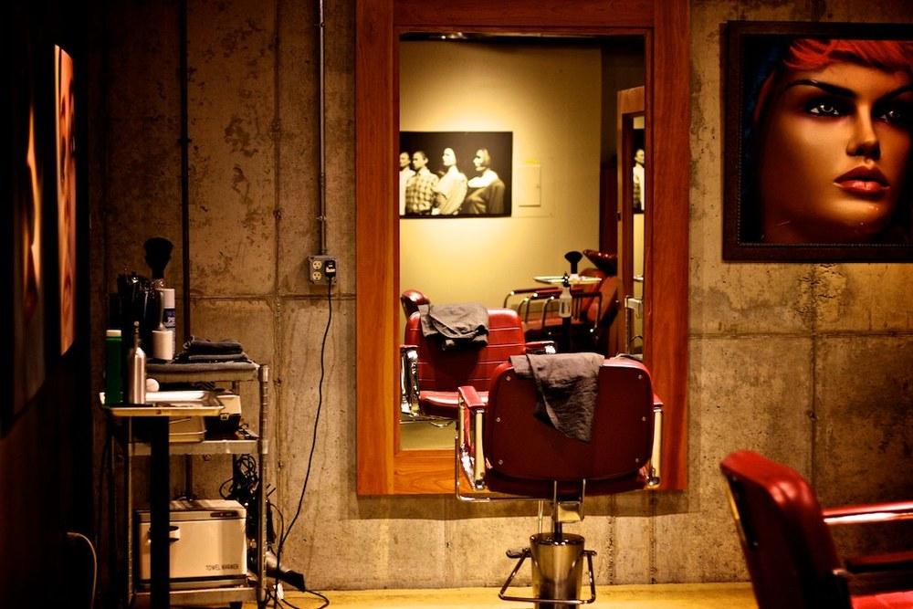 Mens Hair salon burlington vt Aveda barber, clipper scissor cuts.