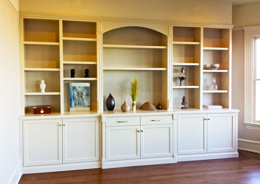 Build In Bookshelves Home Design