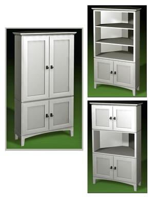 Cornerture Corner Furniture  SJ Sallinger Designs