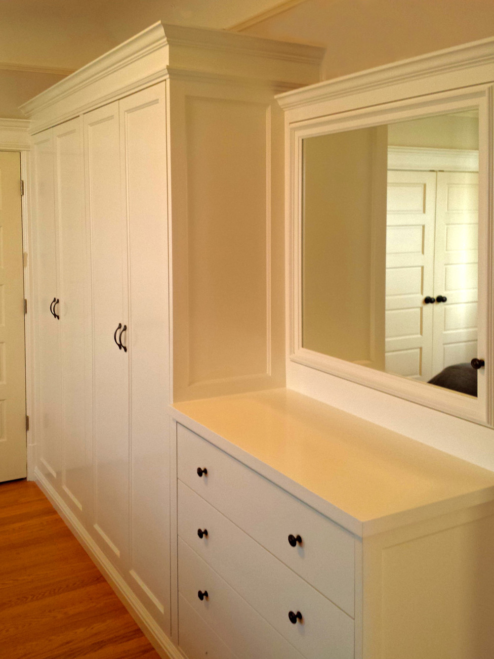 Built In Victorian Closet Cabinet