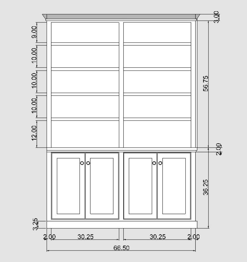 Built In Bookshelves Sj Sallinger Designs