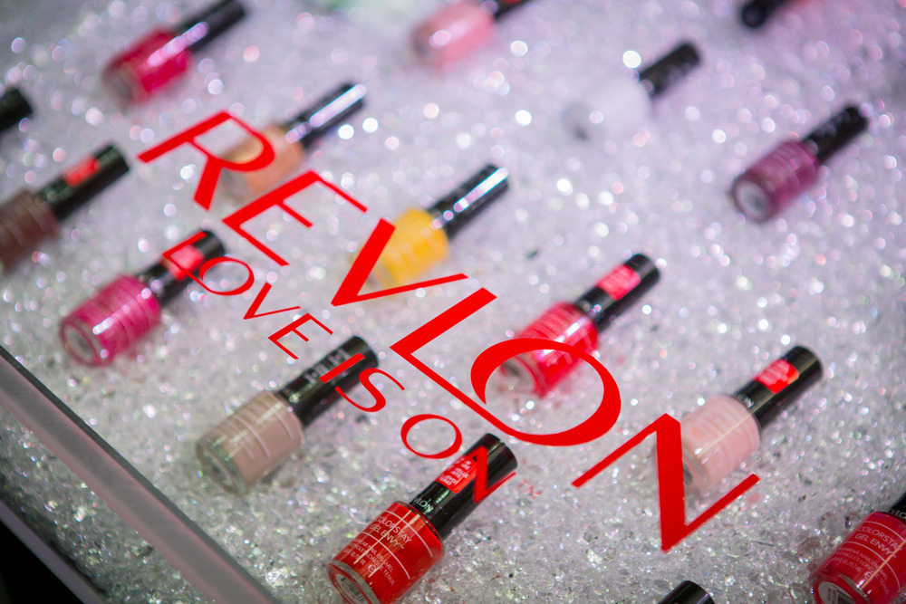 Revlon Love is On! trade show activation at Beauty Con