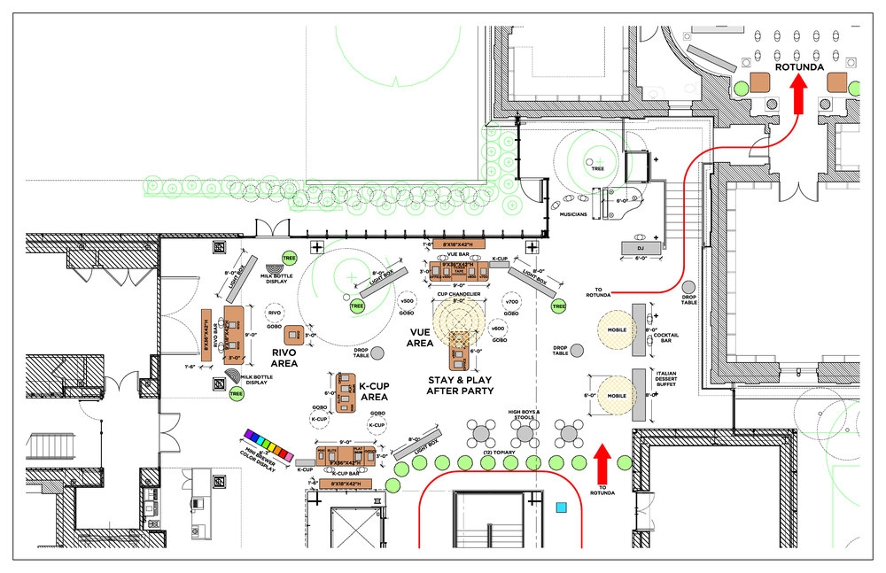 "Keurig Green Mountain:   ""15 Y  ears of I  nnovation & E  ngineering"" - ground plan #1"