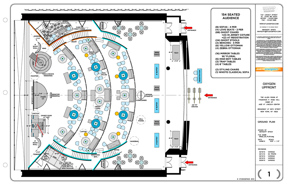 Oxygen Network upfront - ground plan