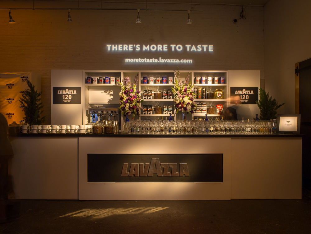 Lavazza's 120th anniversary & product launch of new line of coffee blends