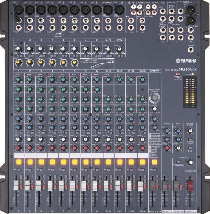Yamaha MG166CX-USB