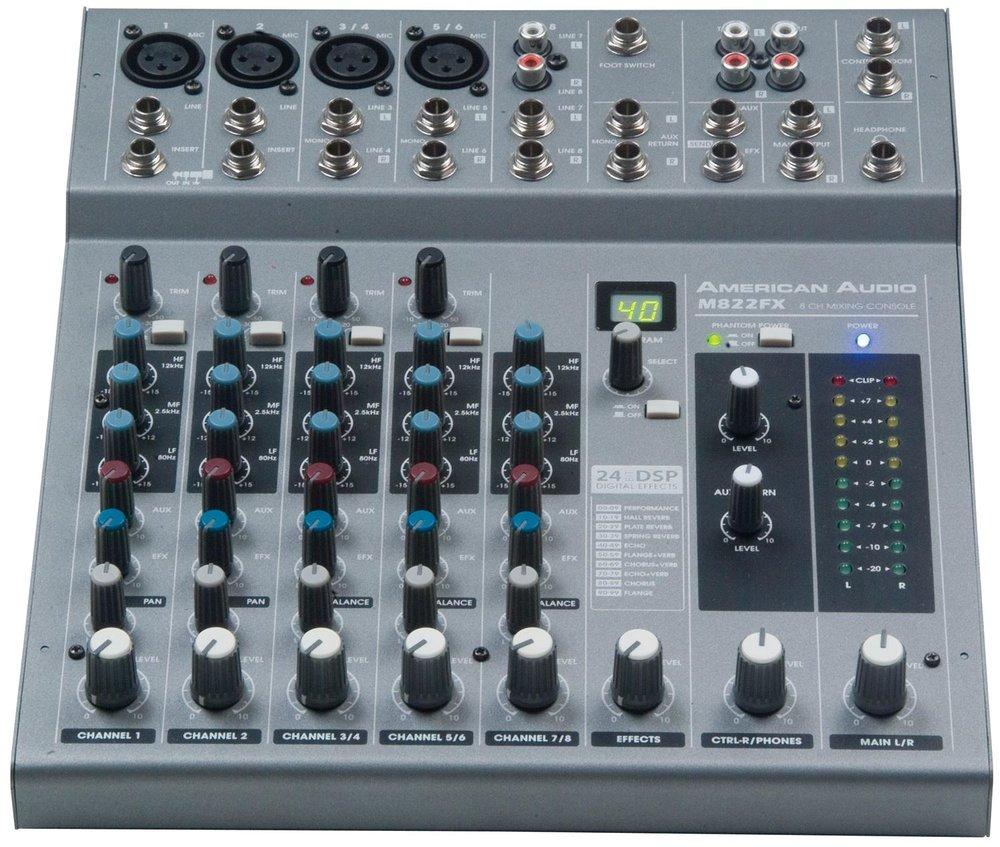 American Audio M822FX