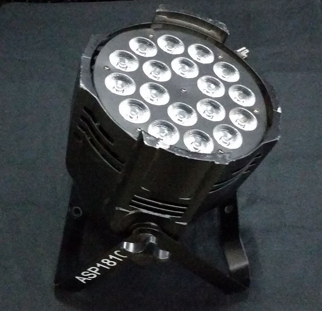 ASP 1810 LED Par    $25.00 Day/Week Rental