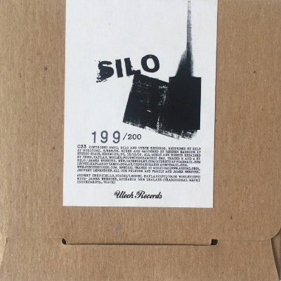 SILO : AUDREY CHEN + NATE WOOLEY + LEONEL KAPLAN plus special guest JAMES                                        WEBSTER - UTECH RECORDS 2006
