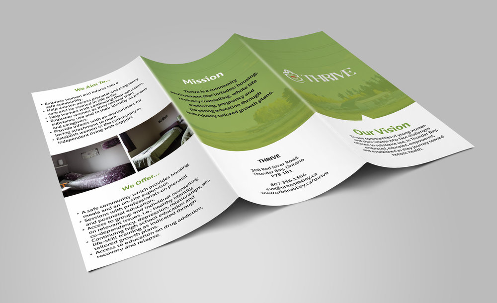 Thrive Environment Brochure