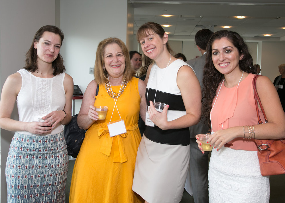 From left: Claire Ward, Janice Bassil, Jennifer Sunderland and Joana Stathi