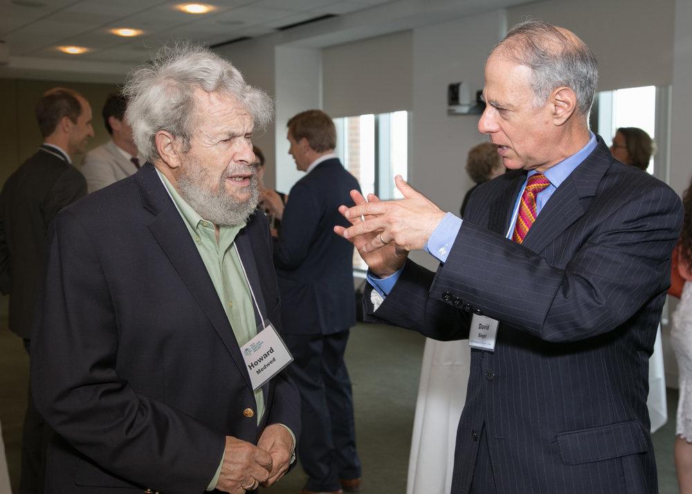 Howard D. Medwed (left) and Siegel