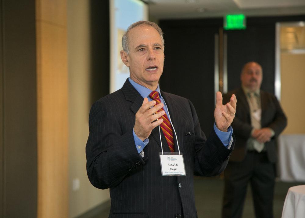 Siegel, chair of NEIP's board