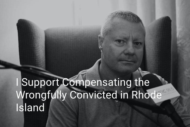 Rhode Island exoneree, Scott Hornoff