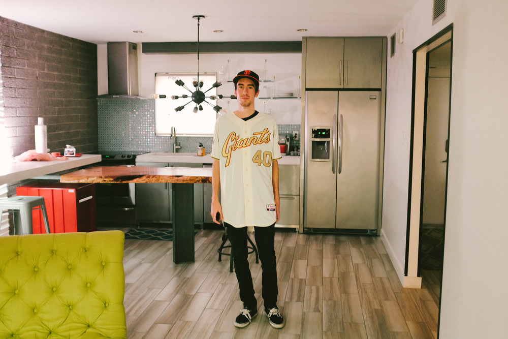 Shawn in our Scottsdale Condo // March, 2016