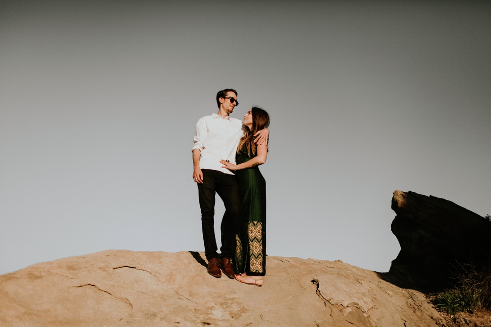 Shawn and Me // 5 year anniversary; Vasquez Rocks, Agua Dolce, CA