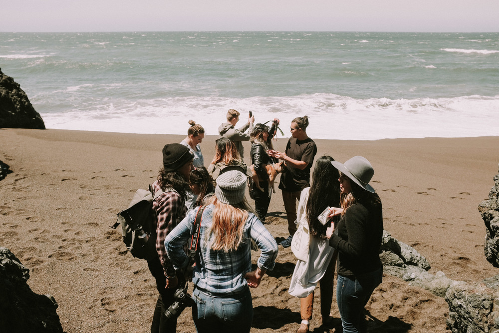 Photographers meet at Tennessee Valley Beach // Mill Valley, CA