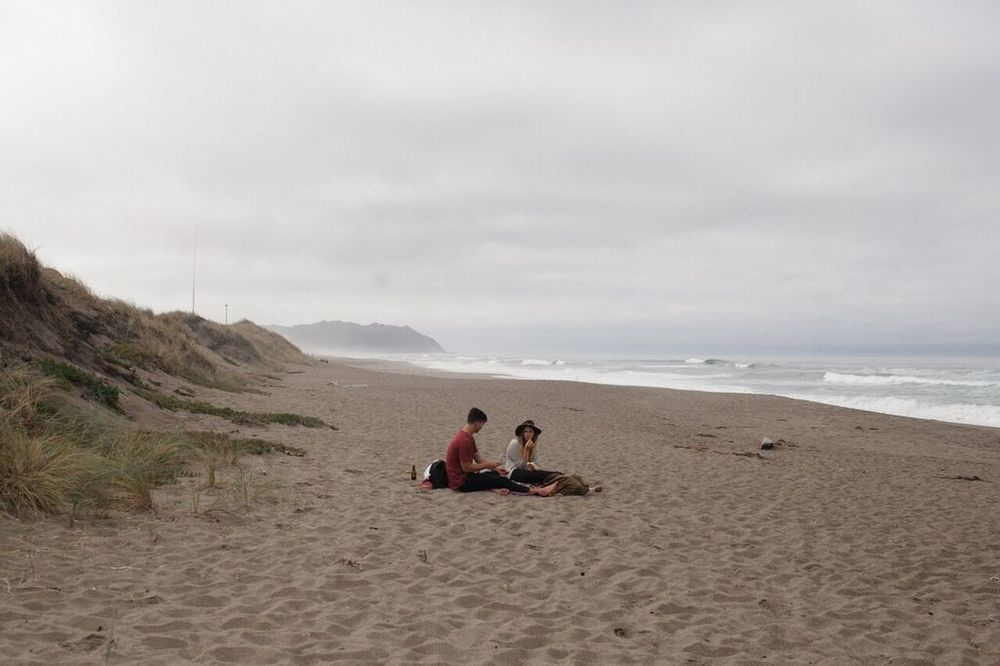 Chris and Sara Picnic // Photo by: harry glazier