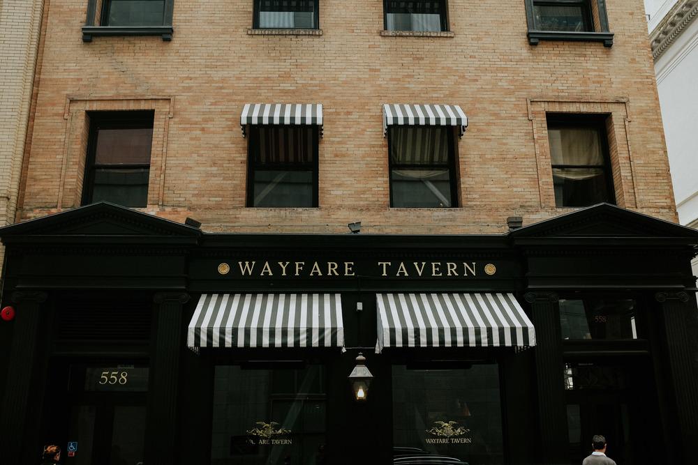 Wayfare Tavern // financial District; San Francisco
