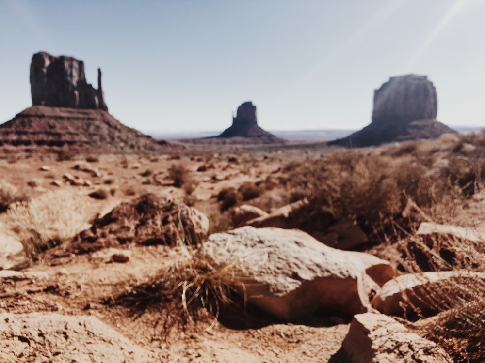 West and east mitten buttes // MONUMENT valley, az