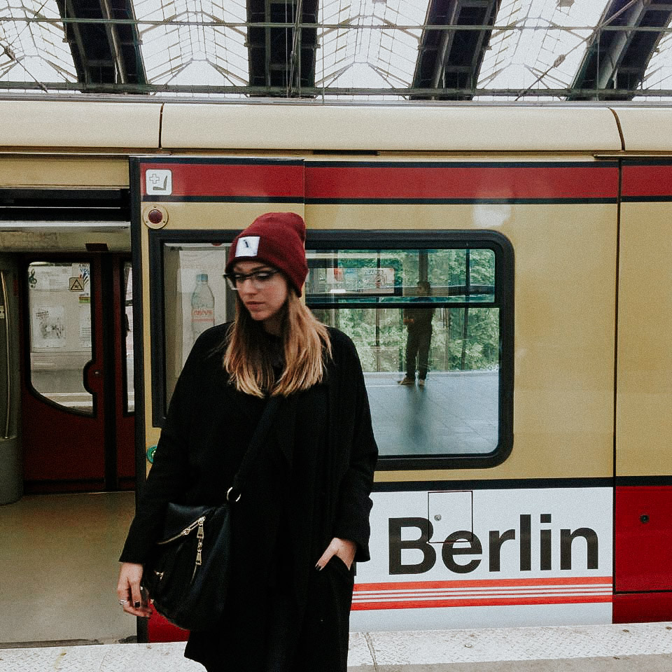 Waiting for a train // Alexanderplatz Station; Berlin, Germany