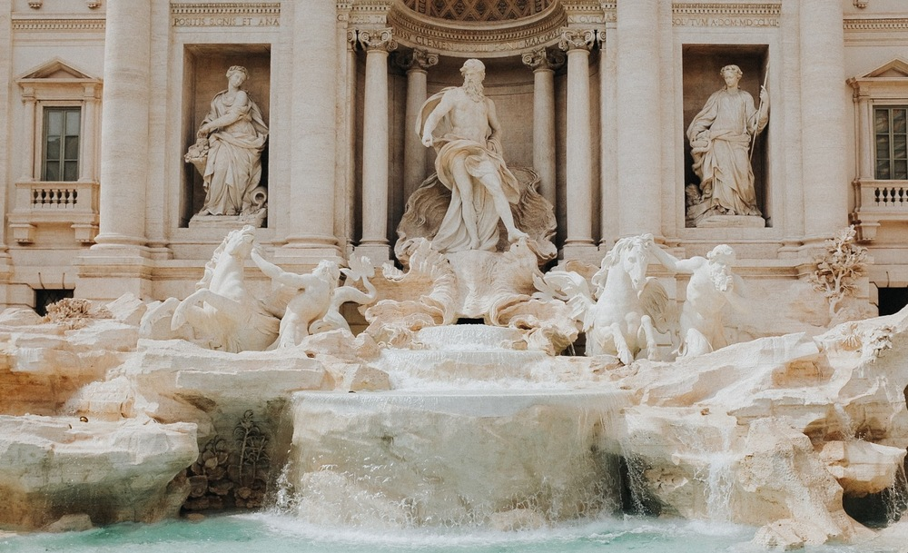 Nicola Salvi's - The Trevi Fountain