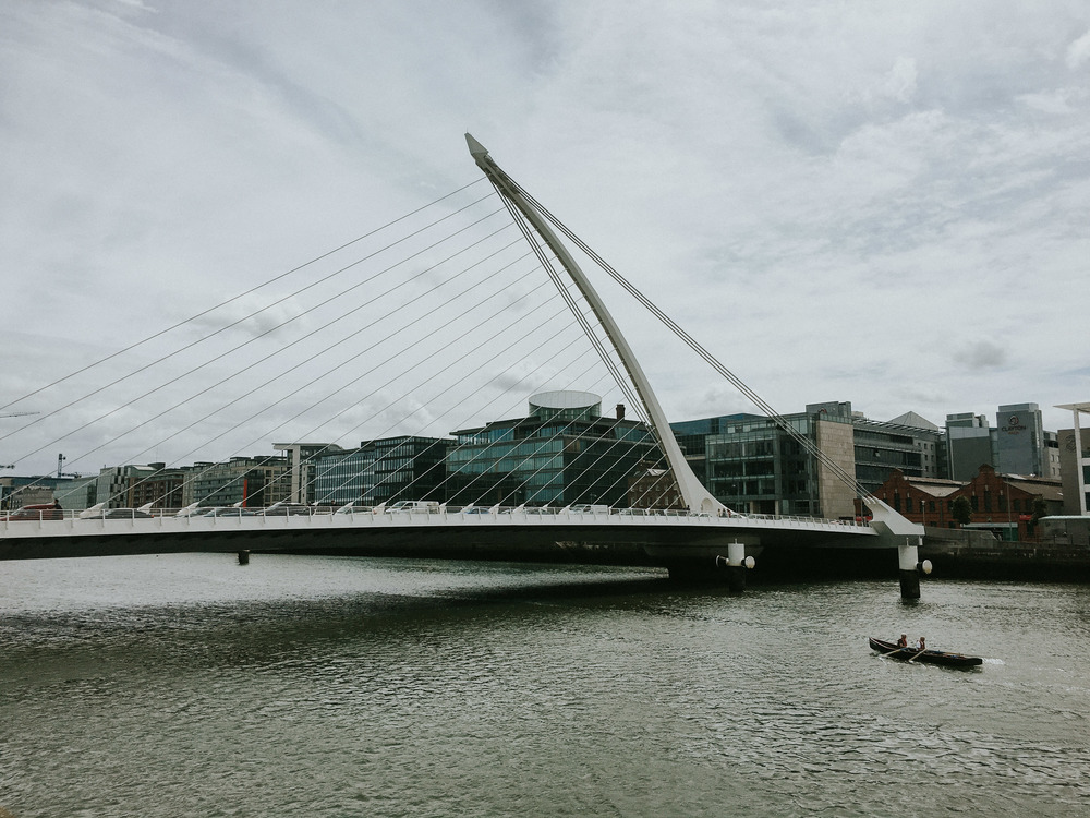 Samuel Beckett Bridge //  Dublin, Ireland