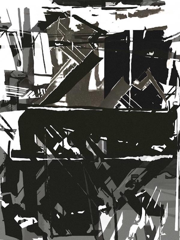 SIREN II , inkjet on paper, 33 x 23 inches, 2019