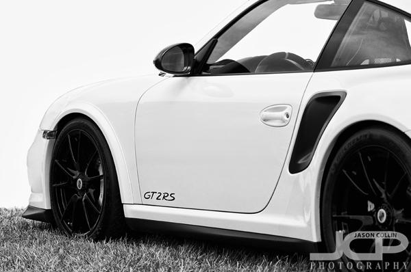 Porsche 911 Gt2 Rs White With Black Rims St Petersburg