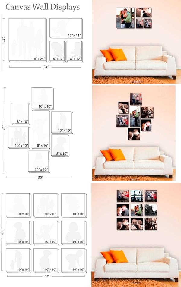 Square Polaroid Wall
