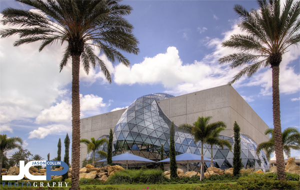 The New Salvador Dali Museum Of St. Petersburg Florida   Nikon D300 With  Tamron 17 50mm F/2.8 @ F/11 ISO 200 7 Bracket HDR With Partial Blend Of A  Single ...