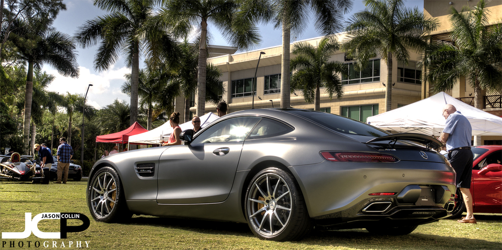 Mercedes AMG GT-S at Naples Motorfest 2016 - Nikon D300 with Tamron 17-50mm @ f/11 ISO 200 5-exposure HDR tripod mounted