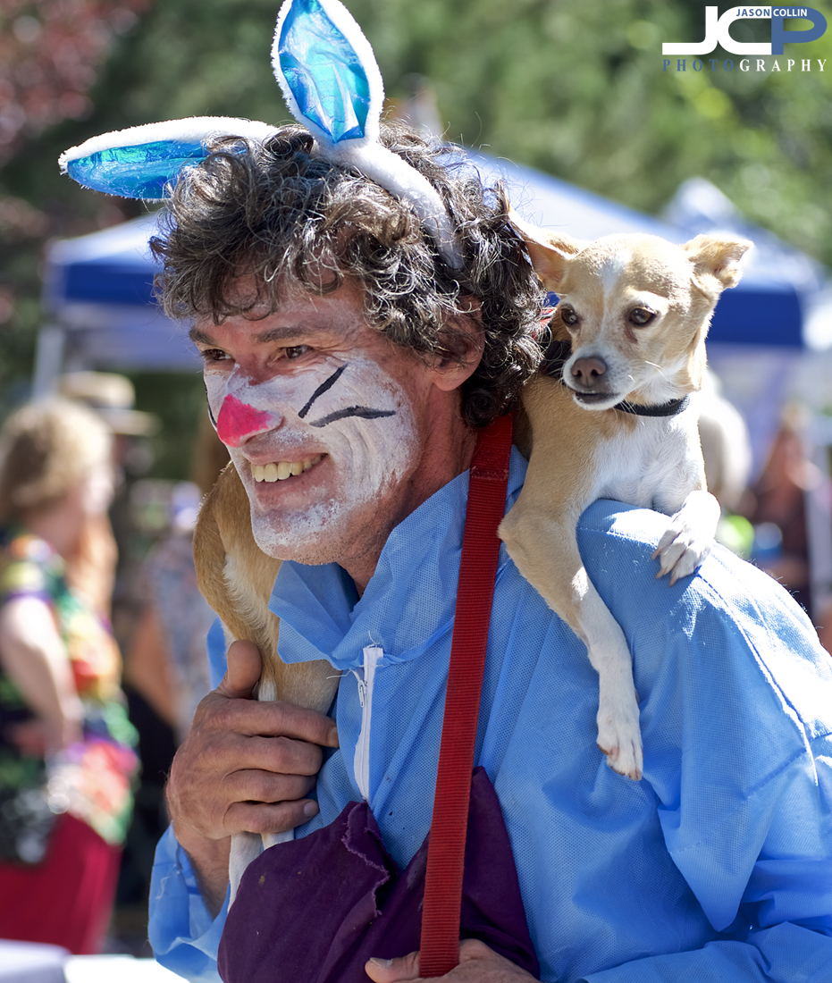 Dogs get involved at the Offcenter Folk Art Festival too! -- Nikon D750 with Nikkor 80-200mm f/2.8D lens @ f/4 1/400th ISO 100