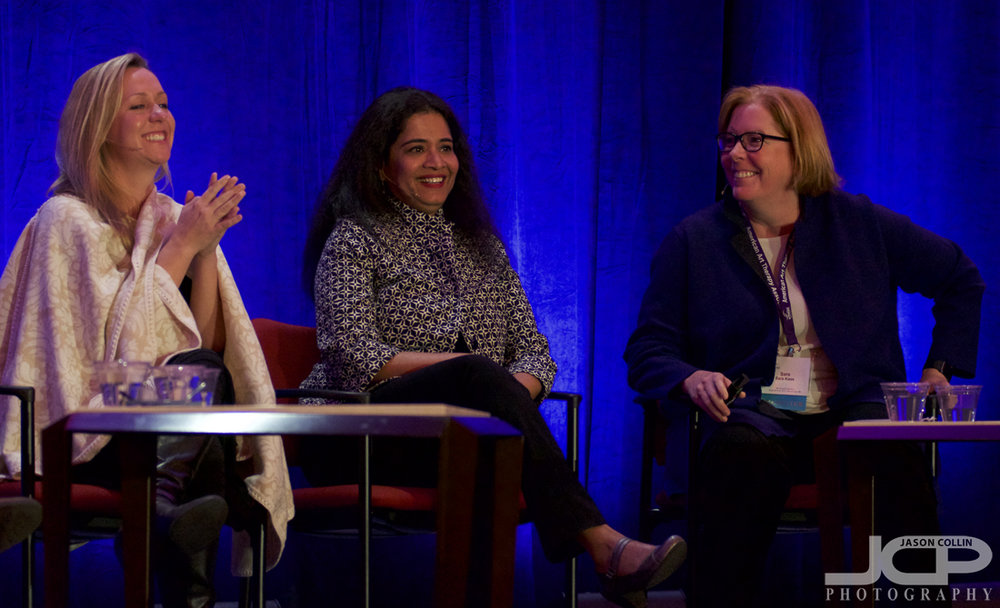 Lots of good vibes on this panel at the American Art Therapy Conference 2017 in Albuquerque, New Mexico -- Nikon D7200 with Nikkor 80-200mm @ f/2.8 1/200th ISO 4000