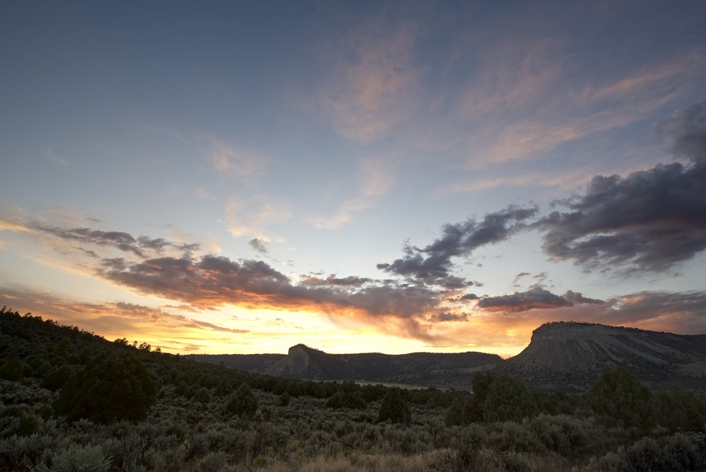 Rio Arriba Buttes Twilight