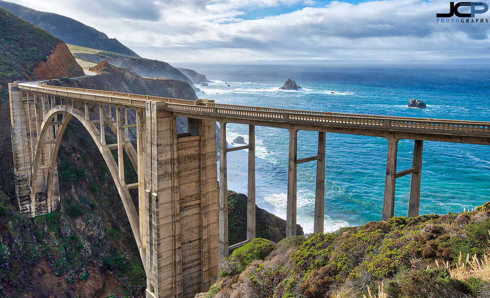Bixby Bridge was as stunning of a vista as I had long daydreamed it to be - Nikon D750 with Tamron 15-30mm f/2.8 SP tripod mounted 5-bracket HDR
