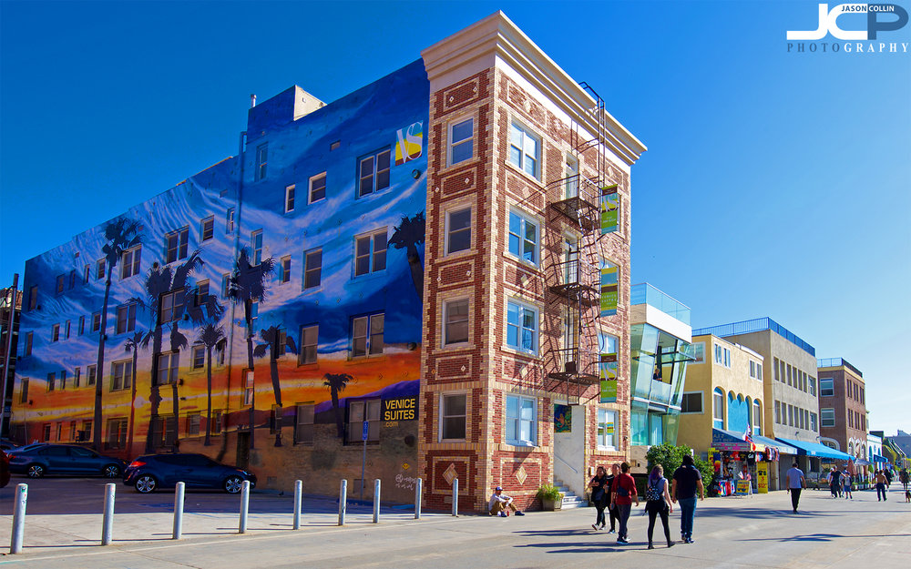 If your Venice Beach building does not have a mural, then you are not with it! - Nikon D750 with Tamron 15-30mm lens