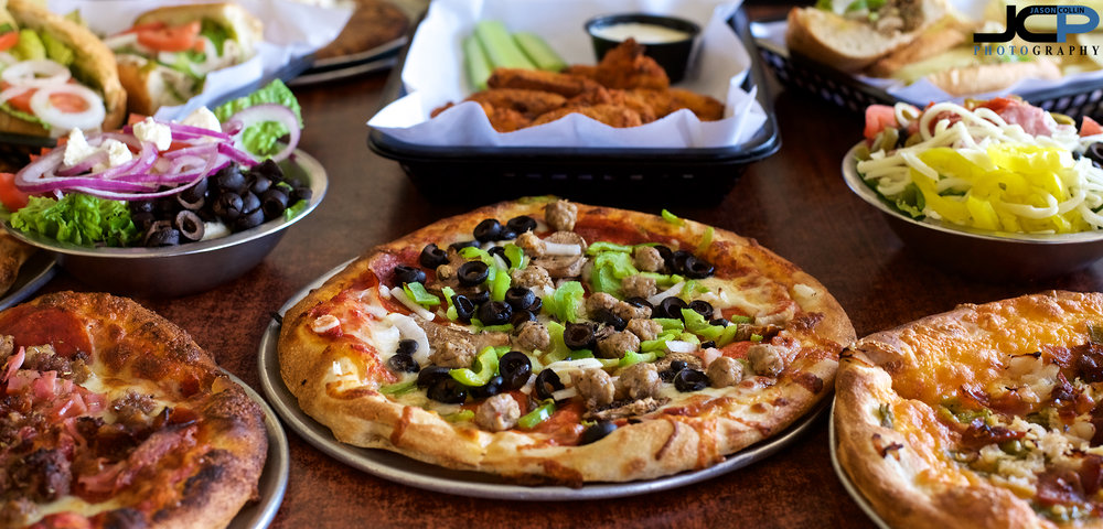 Professional Food Photography at Brickyard Pizza in Albuquerque, New Mexico