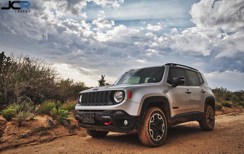 Jeep Renegade Trailhawk offroad in Rio Rancho