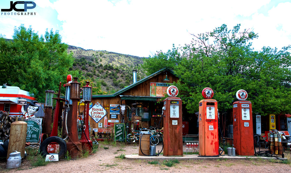 A hidden gem along the northern Rio Grande River in New Mexico where gas is still just 32 cents per gallon!