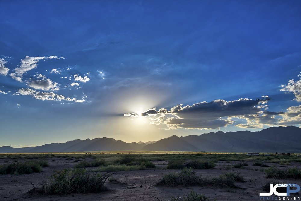 The Pyramid Mountains of Lordsburg, New Mexico