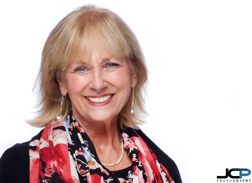 New real estate agent in Albuquerque, New Mexico, Joyce, visited the JCP Home Studio for a headshot