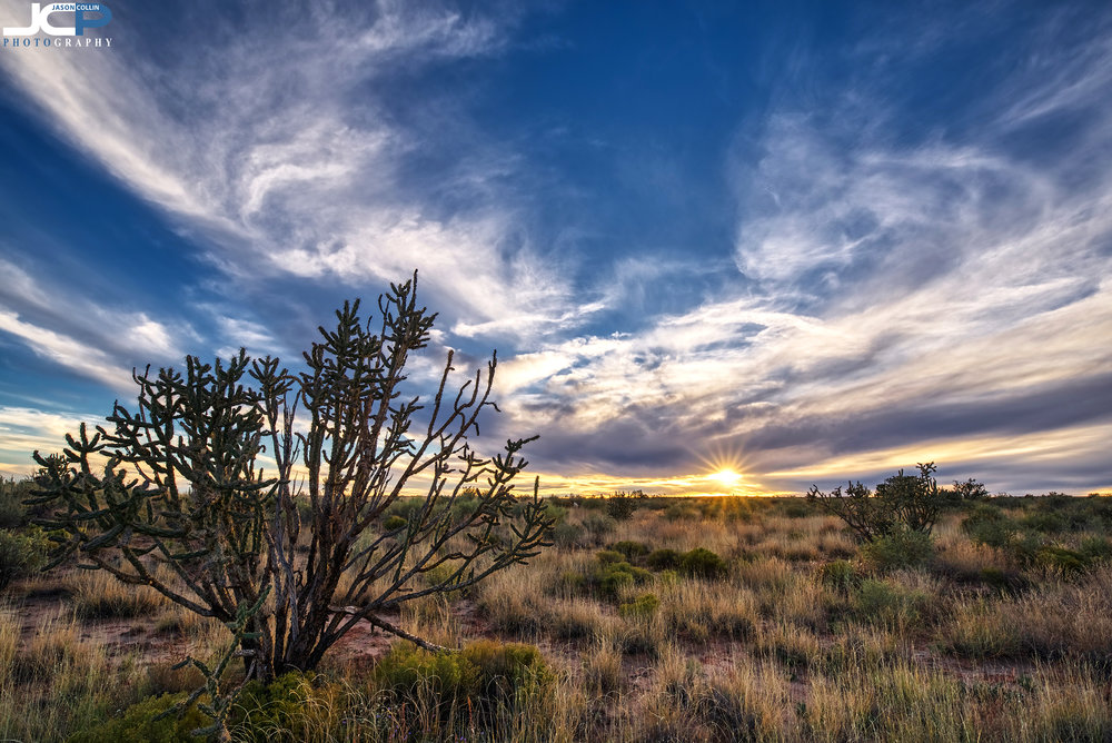 Fine Art HDR sunset photography in Rio Rancho New Mexico