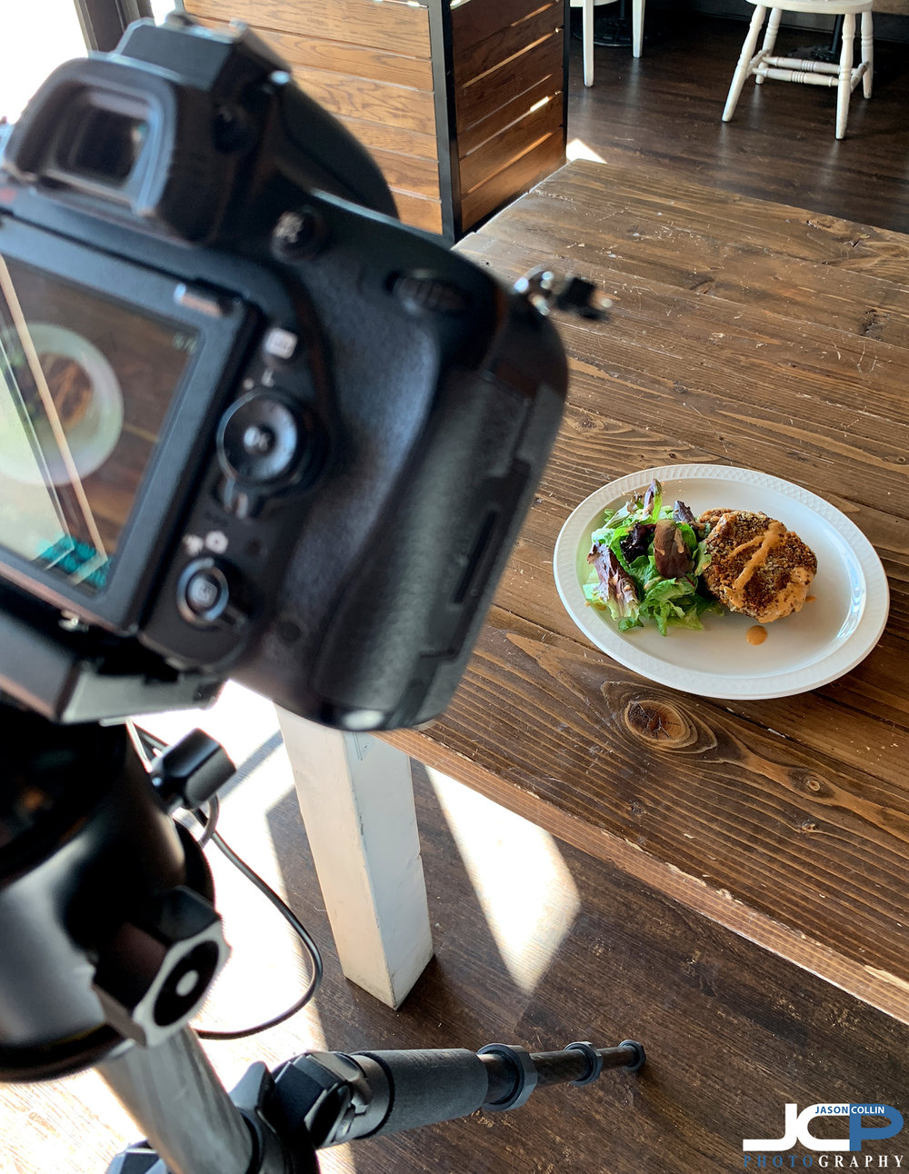 natural light food photography setup in Albuquerque New Mexico