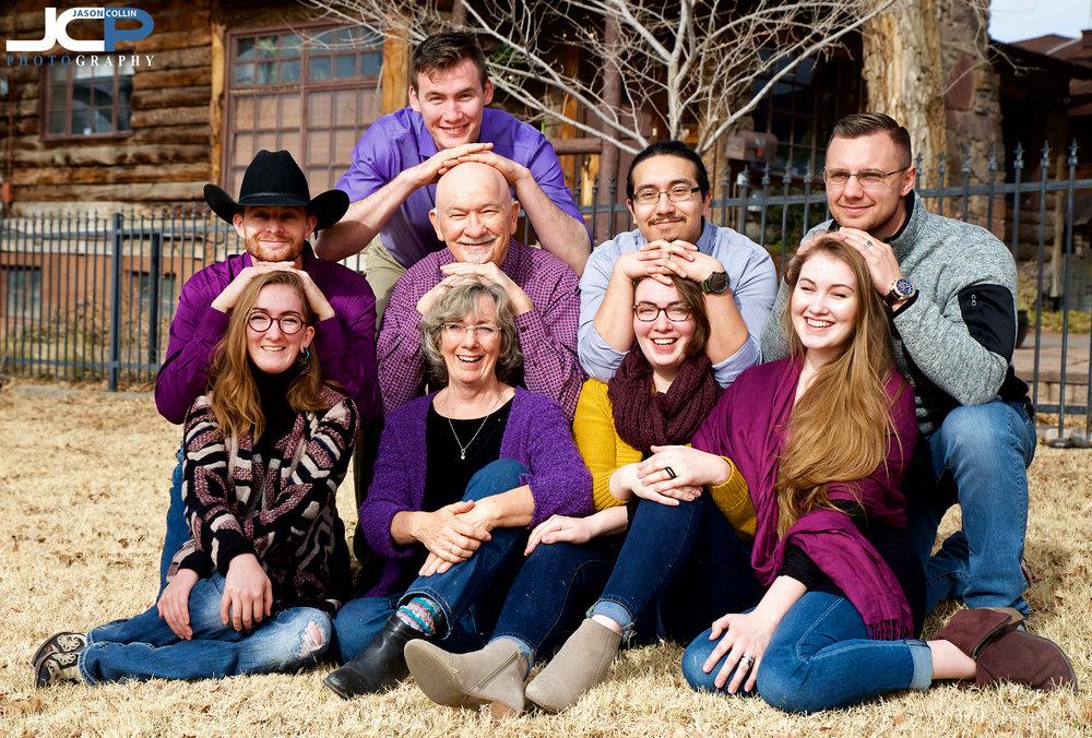 Candid, fun, creative family portraits in Albuquerque, New Mexico