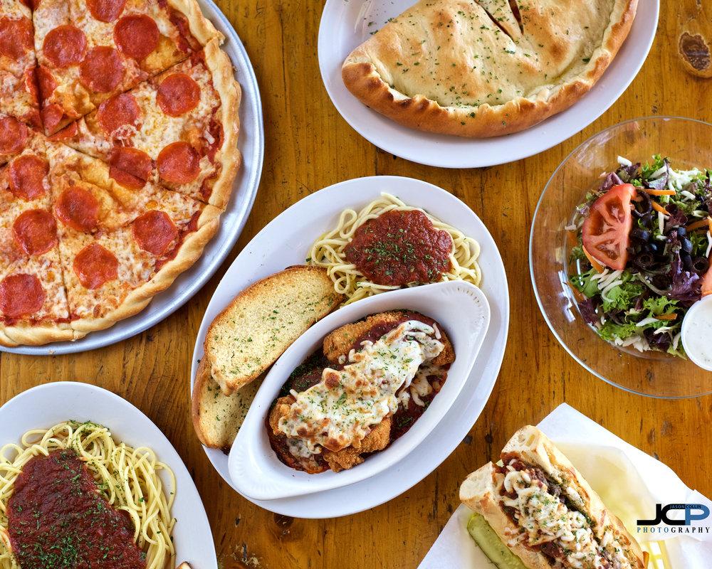 hero pizzeria shot food photography abq