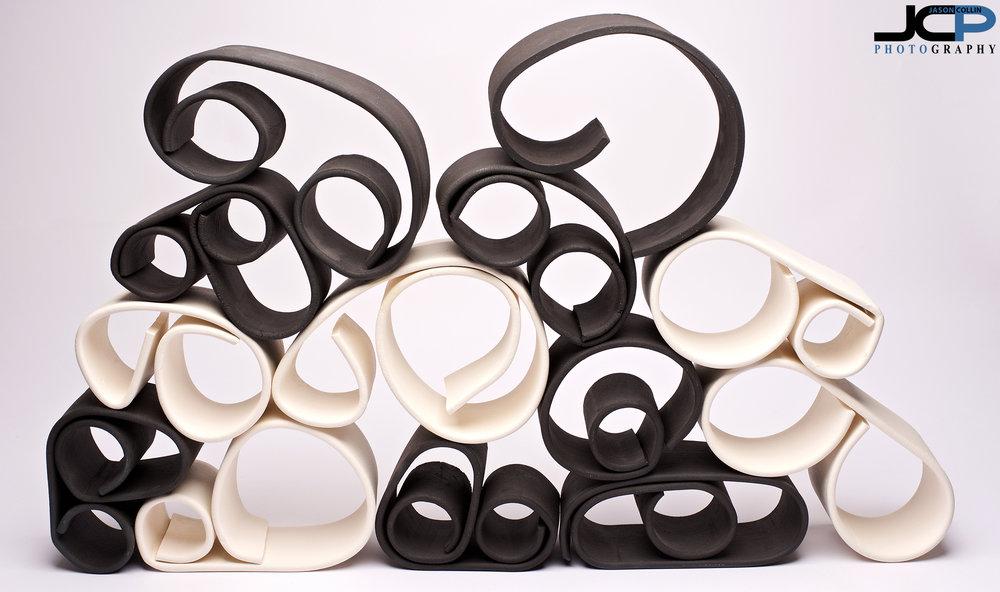 Modular art let's you decide the final form - ceramics by Noah Starer
