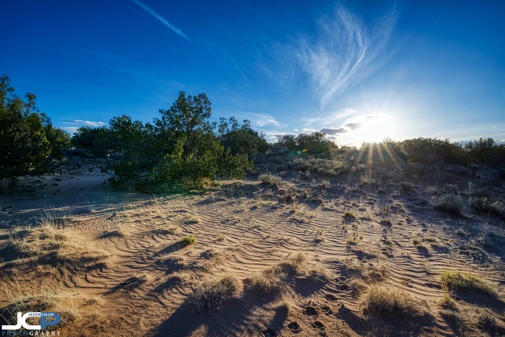 Looks like sand dunes in Rio Rancho, New Mexico
