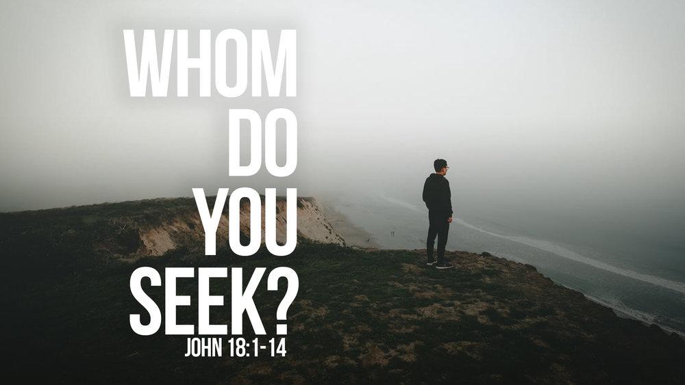 Hasil gambar untuk whom do you seek