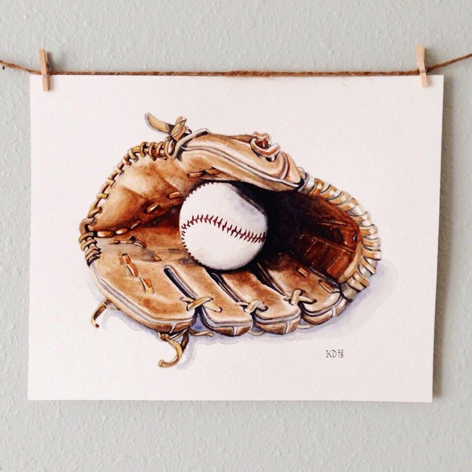 Ball & Glove [8x10]